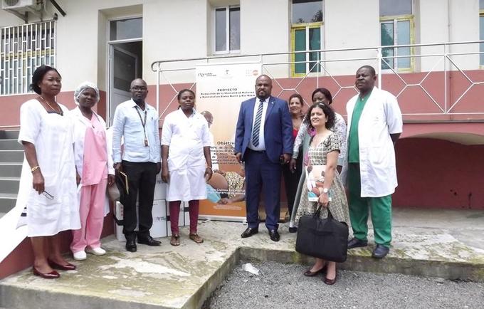 """La distribución de kits de atención de salud reproductiva y colocación de diu en los establecimientos de salud de bioko norte estaba en el ámbito del proyecto """"reducción de la mortalidad materna y neonatal en las provincias de bioko norte y kie ntem"""""""