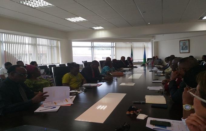 Reunión del Comité de Dirección para evaluar resultados alcanzados en 2018 y definir estrategias  para 2019