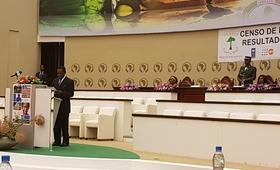 Acto solemne de la presentación de los Resultados Definitivos del Censo 2015 de Guinea Ecuatorial