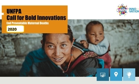 The 2020 Innovation call, launched by UNFPA partnering with the World Food Programme (WFP) Innovation Accelerator, received nearly 65 submissions from teams around the world. Equatorial Guinea was one of the 9 winners, following a competitive process which included a multi-stage review process by an UNFPA interdisciplinary group, specialists, and finally panel interviews by UNFPA and WFP.