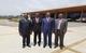 El Representante Residente del UNFPA con el Ministro de Sanidad y de Bienestar Social en la reunión del Comité de Pilotaje del UNDAF en la ciudad de Djibloho. Con motivo de la reunión del Comité de Pilotaje del UNDAF 2013-2017